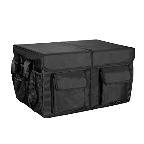 Amazon miu color car trunk organizer foldable cargo trunk miu color car trunk organizer foldable cargo trunk organizer with durable cover washable storage with solutioingenieria Choice Image
