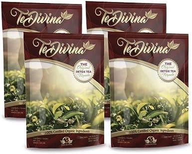 Te Vida Divina - Té Pack De 4: Amazon.es: Alimentación y bebidas