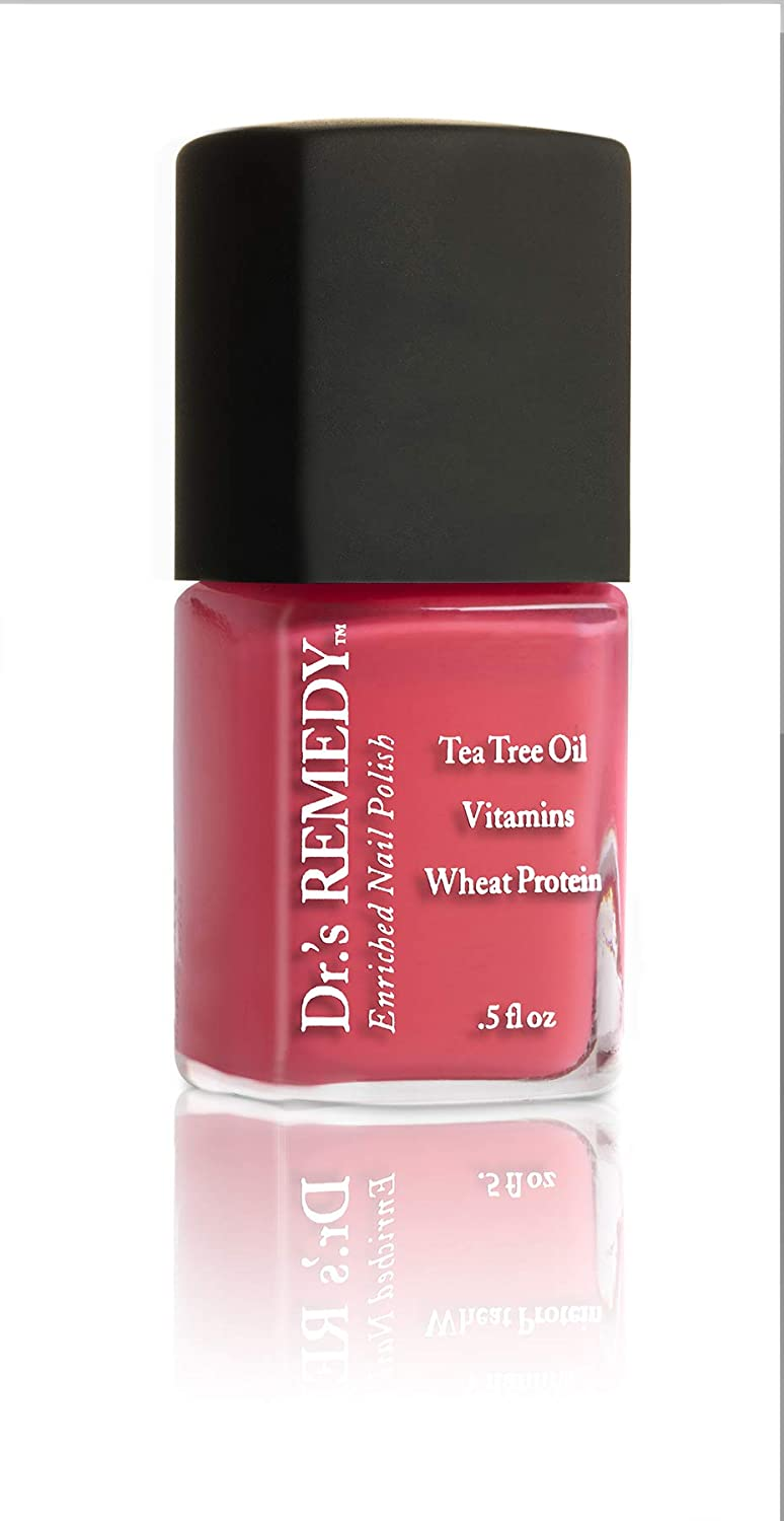 Dr.'s Remedy Enriched Nail Polish- PEACEFUL Pink Coral