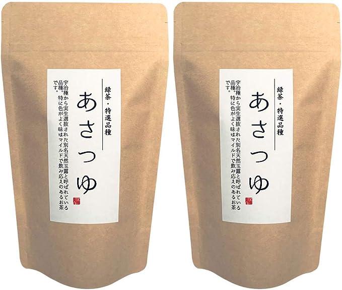 あさつゆ210g×2p | 鹿児島県 | 知覧茶 | 濃厚深蒸し | こだわりの品種 | 一番茶使用