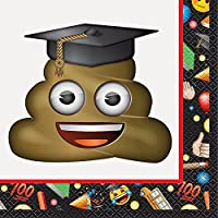 Emoji Graduation Party Napkins, 16ct