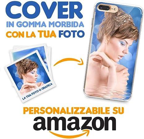 Custodia Cover Trasparente Personalizzata Frase Per Apple iPhone