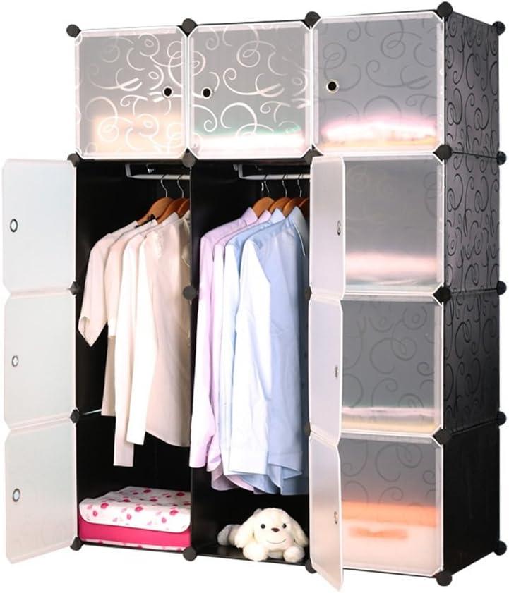 6, avec Motif MCTECH/® syst/ème d/étag/ères Bricolage Placard /étag/ères modulaire Pliable bo/îtes en Plastique de Porte-Sabot de Placard penderie