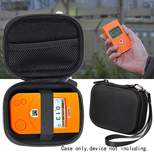 Price comparison product image Radiation Detector Case for RADEX RD1212 Advanced, RD1212-BT Advanced Radiation Detector, RD1503+with, w/o Dosimeter, RD1706 Geiger Counter, Dosimeter w/Bluetooth, mesh accessories pocket