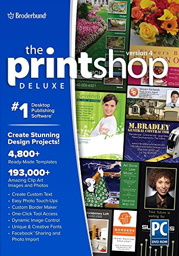The Print Shop Deluxe 4.0 by Encore