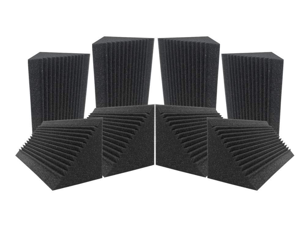 Acepunch 8 Tratamiento de aislamiento acústico de espuma acústica con trampa de graves de esquina multi-corte 12 x 12 x 24 cm AP1169: Amazon.es: ...