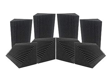 Acepunch 8 Tratamiento de aislamiento acústico de espuma acústica con trampa de graves de esquina multi
