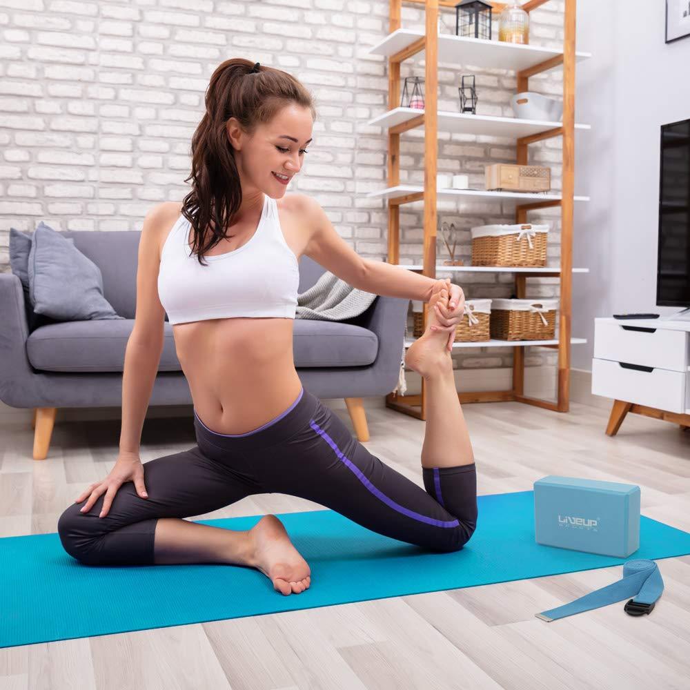 LiveUP Sports - Yoga Set PVC Yoga Mat Tappetino, Blocchi ...