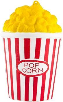 ZhengYue Squishy Kawaii Grandes Juguete Niños Squeeze Popcorn Copa Squishy Slow Rising Pack Descompresión Juguetes Compresivos (Rojo): Amazon.es: Juguetes y juegos