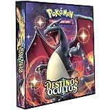 Álbum Pokémon Pasta tipo Fichário para Cards - SOL&LUA - Destinos Ocultos