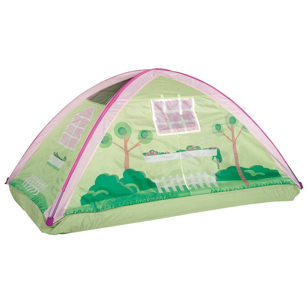 [パシフィックプレイテント]Pacific Play Tents Kids Cottage House Bed Tent Playhouse Fits Full Size Mattress 19601 [並行輸入品] B00YXDU1MM