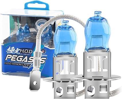 H3 Ampoules Feux De Brouillard Avant Xénon Super Blanc Lampe Kit