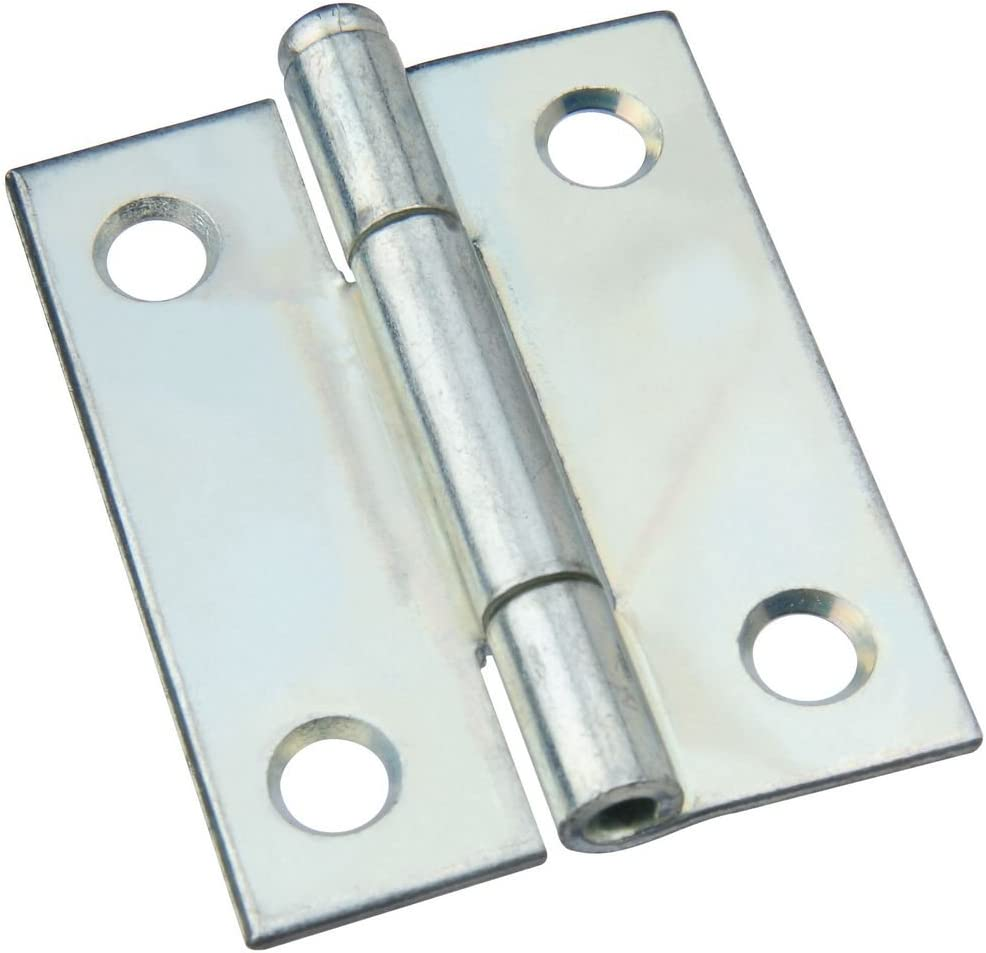National Hardware N195-677 V504 Removable Pin Broad Hinge in Zinc plated