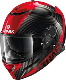 Amazon.es: SHARK NC Casco per Moto, Hombre, Negro/Rojo, XS