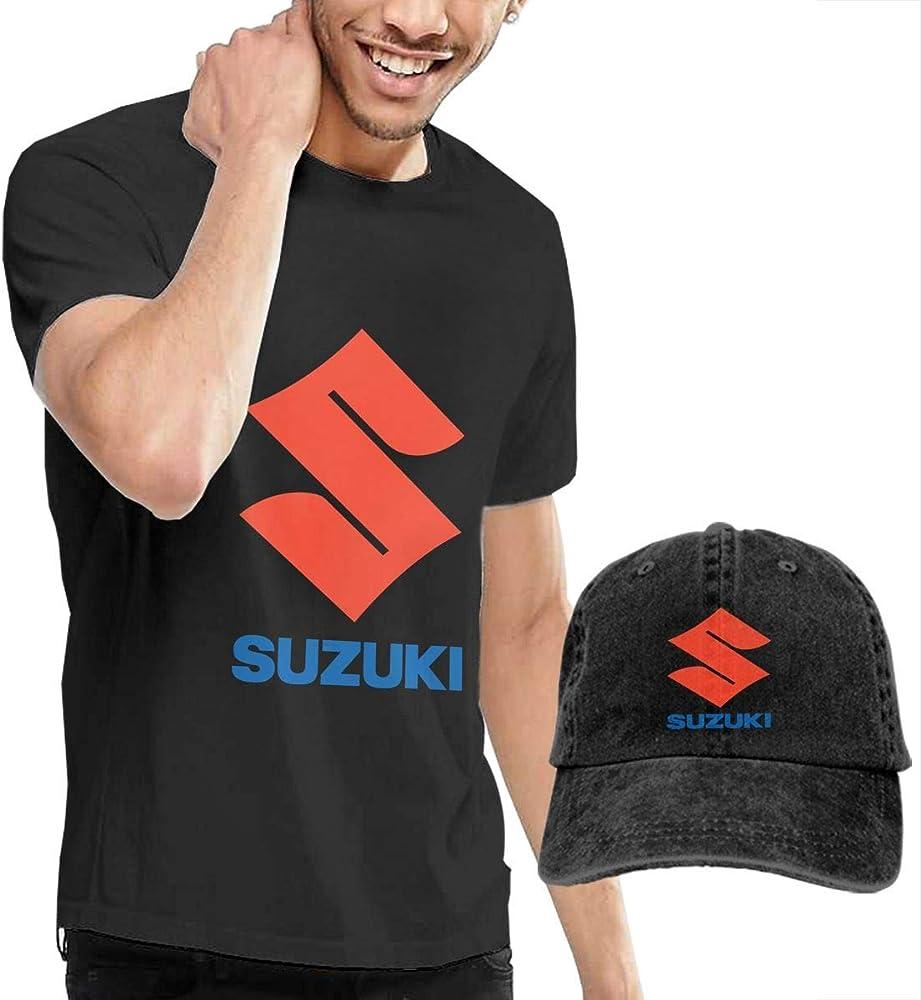 AOCCK Camisetas y Tops Hombre Polos y Camisas, Design Suzuki Logo ...