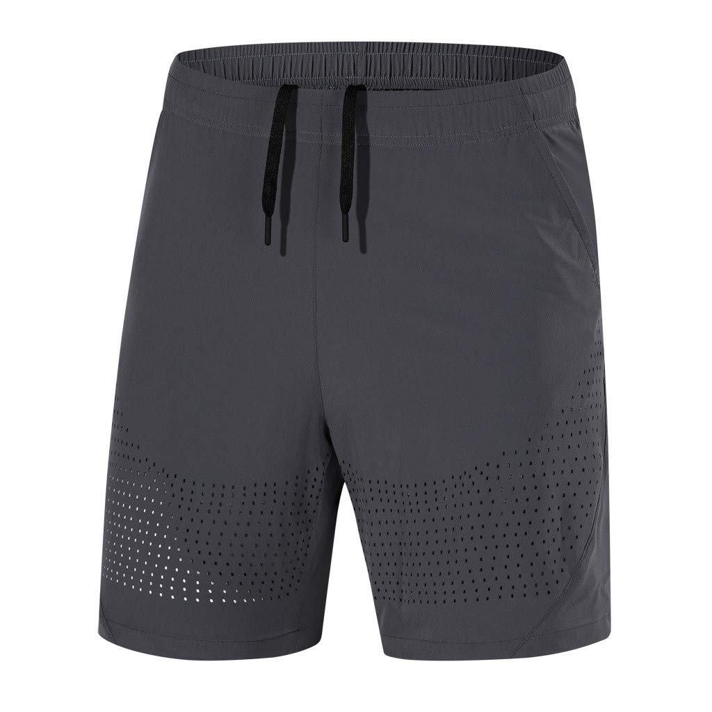 Men's Casual Classic Fit Short Loose-Fit Performance Shorts