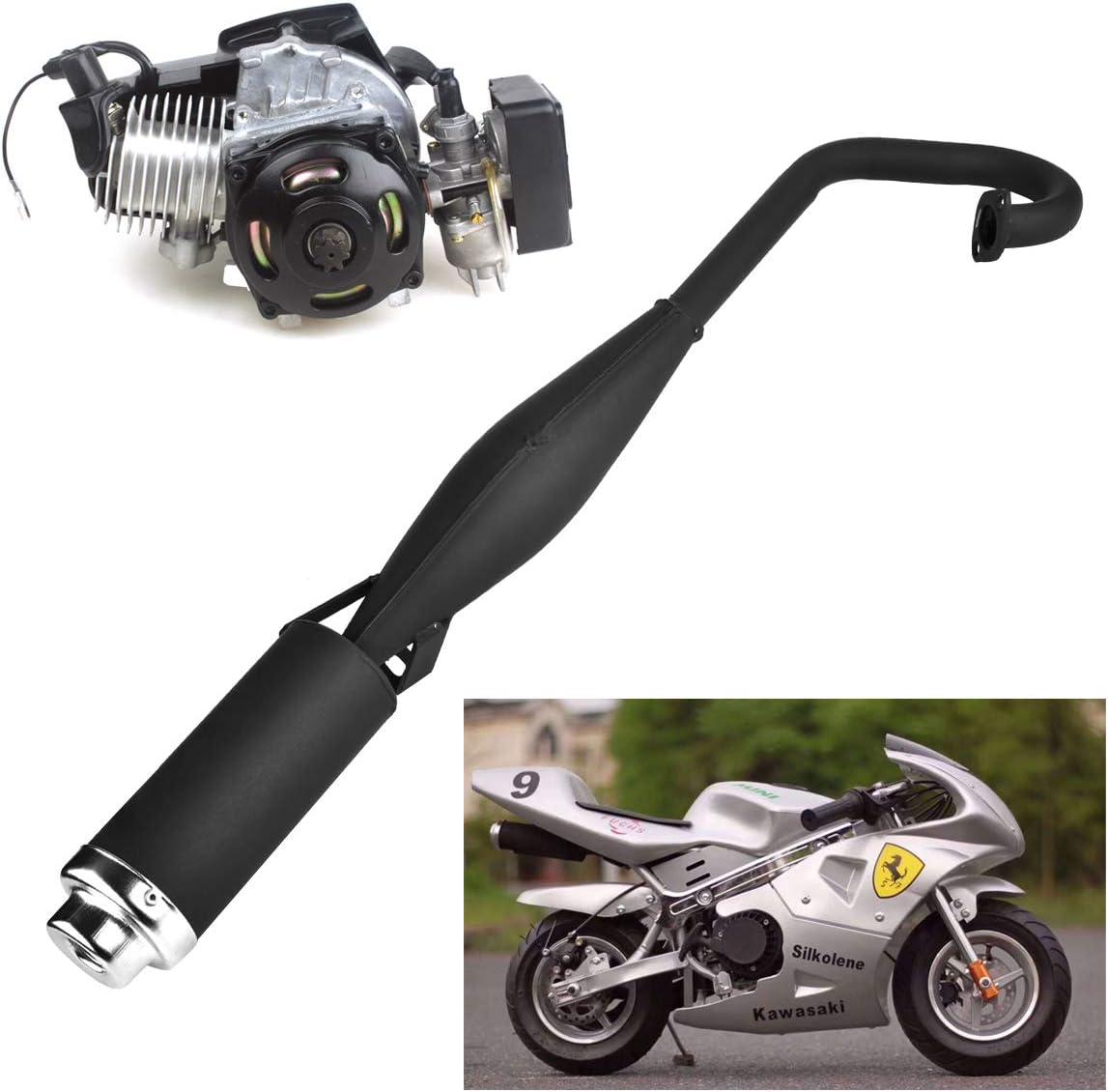Muffler for X1 Skinny Performance Pipe X2 Pocket bike 43cc, 49cc 2-stroke