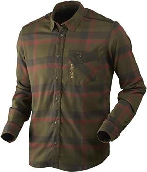 Härkila Angot Camisa verde/marrón a cuadros para hombre, xxx-large: Amazon.es: Deportes y aire libre