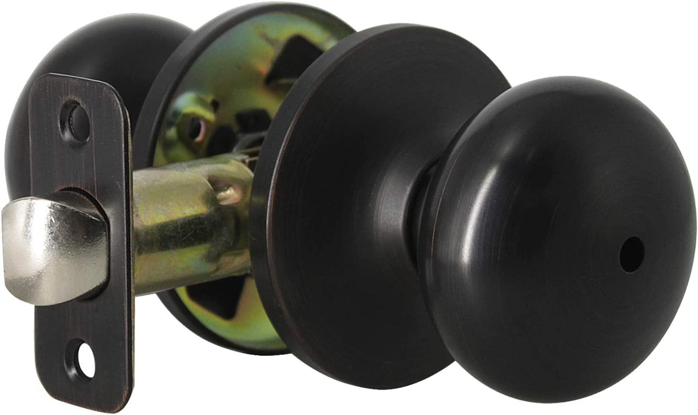 Color : Silver Size S Easy Installation 3-Color Door Lock Cylinder Head Cover for Locking Wooden Door Hardware in Bedroom Bathroom Stainless Steel