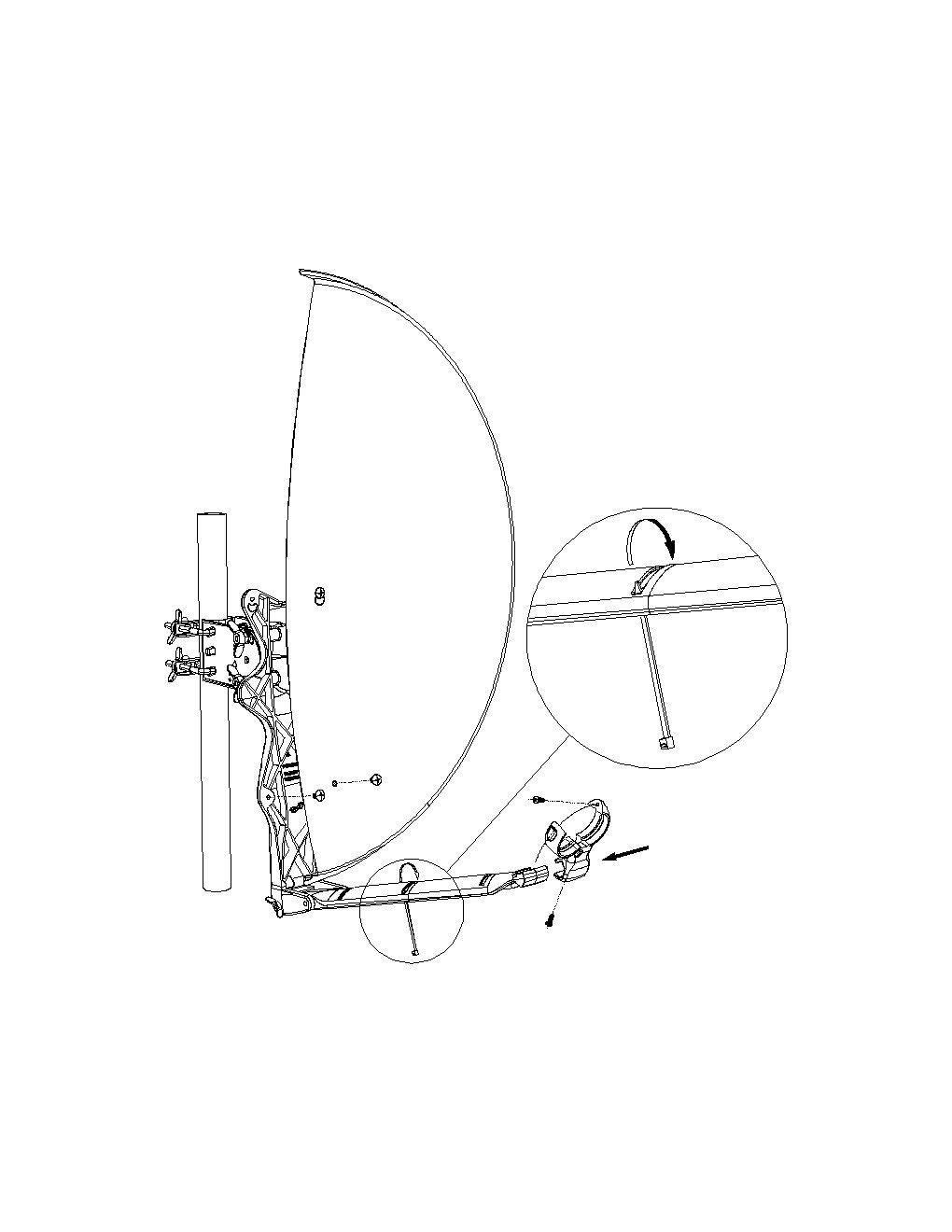 3 x Test Sehr gut Aluminium Sat-Spiegel DUR-line Select 75cm//80cm Anthrazit Satelliten-Sch/üssel
