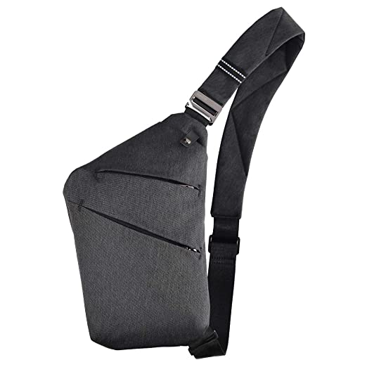 dc4fc5d6ac8 OSOCE Anti-Theft Waterproof Shoulder Backpack Sling Chest Crossbody Bag  Cover Pack Rucksack Bicycle Sport