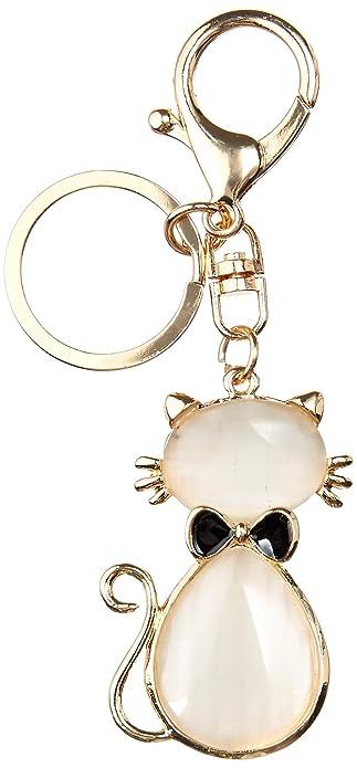 Amazon.com: llavero gato, llavero, amantes de gatitos ...