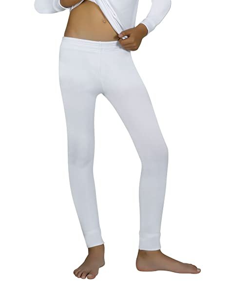 Ysabel Mora Kids Thermal Pants White in size 4 Years