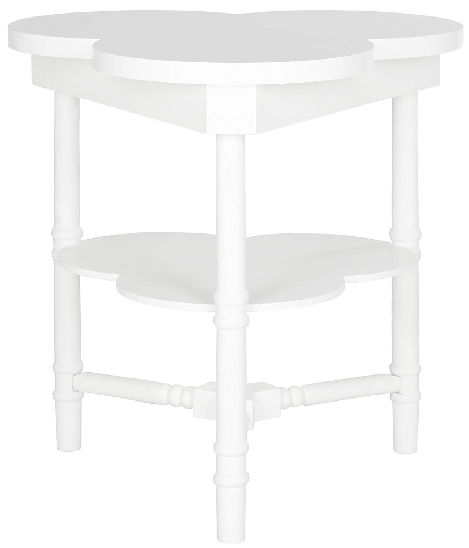 Safavieh Beistelltisch, Holz, weiß, 66 x 62 x 71.12 cm