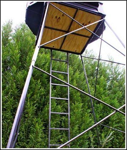Hughes HP-67001 Box Blind & HP-67058 5'-8' Adjustable Tower