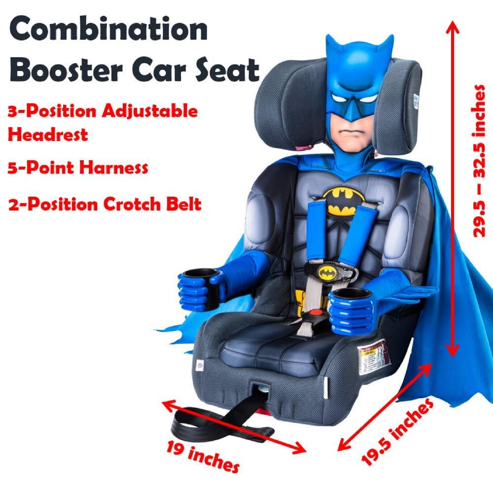 Amazon KidsEmbrace Combination Booster Car Seat DC Comics Batman Child Safety Accessories Baby