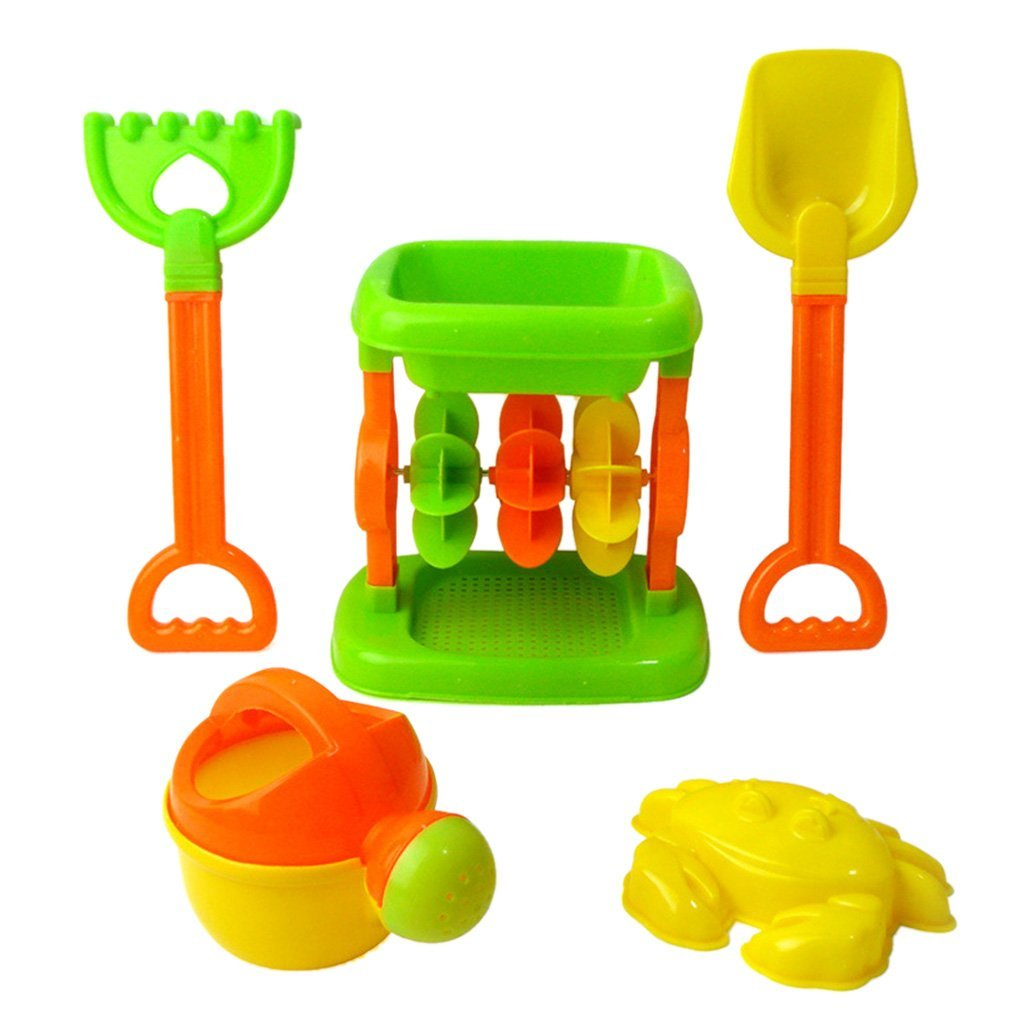 Kids Beach Seaside Water Toy Sandglass Set of 5 Generic