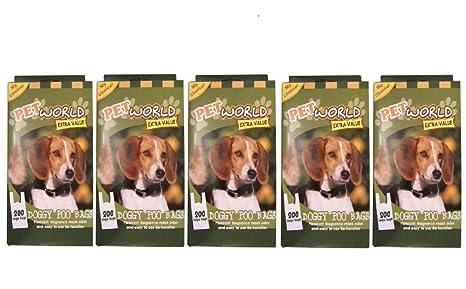 Amazon.com: Bulk Deal 1000, de caca de perro bolsas de caca ...