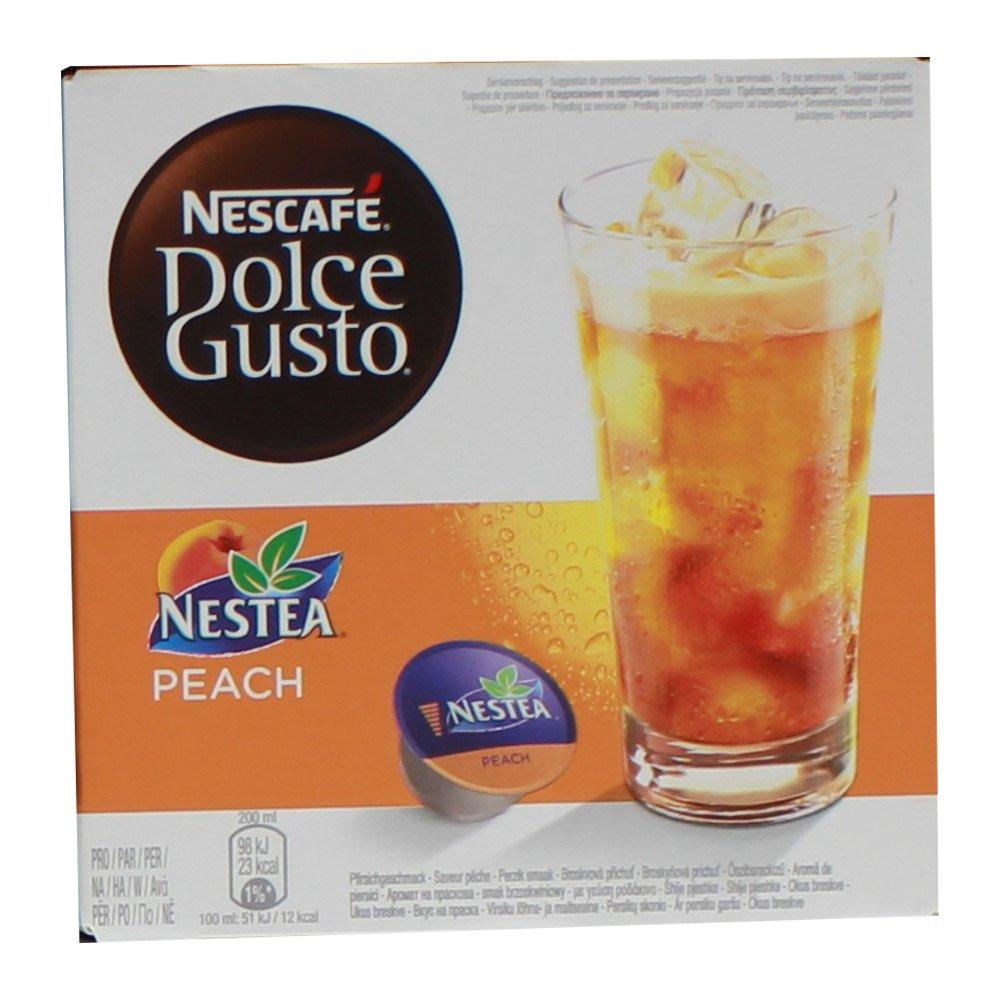 80 x Nescafé Dolce Gusto Nestea Peach, Cápsulas de Tea Helado de Melocotón: Amazon.es: Hogar