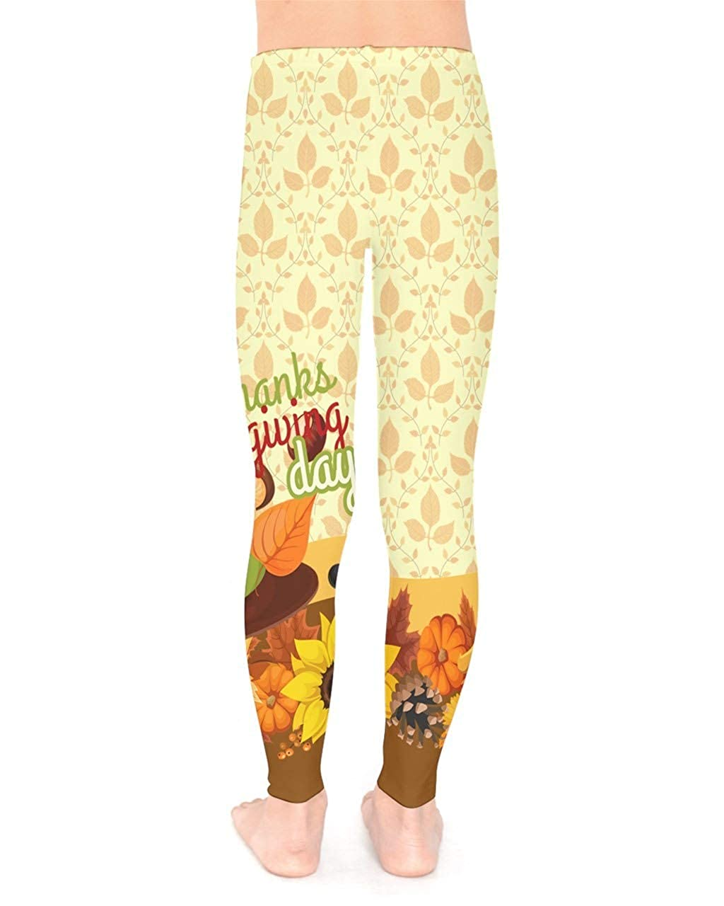 6b2a3c9c19e9f Amazon.com: PattyCandy Girls 2-13 Years Old Hearts & Cartoon Flamingo &  Thanksgiving Patterns Toddler Kids Leggings: Clothing