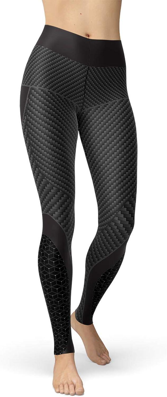 Carbon Fiber Yoga Leggings for Women High Waisted High Performance Design Style