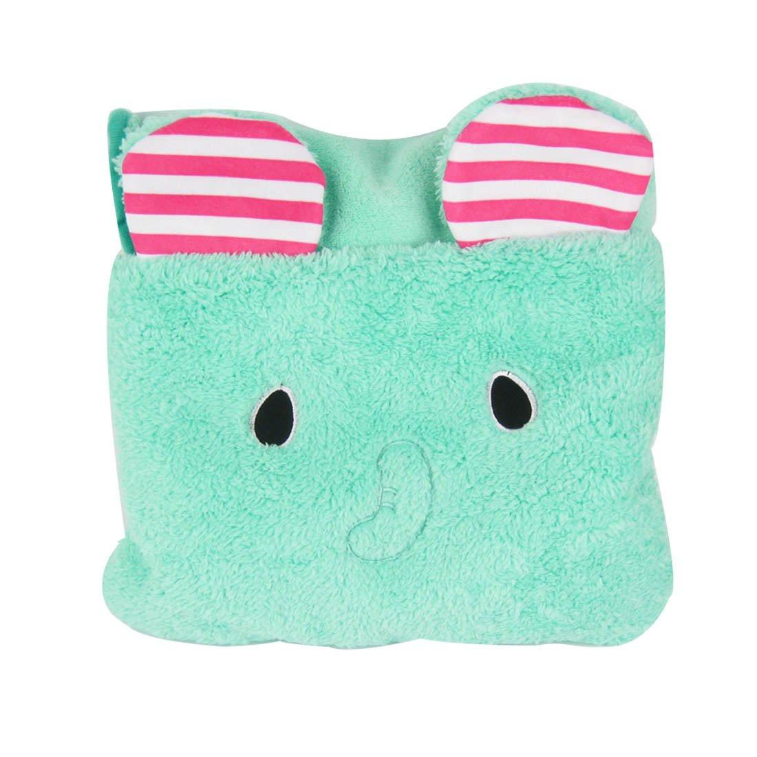 MyKazoe Kids Plush 2-in-1 Pillow Blanket (Elephant)