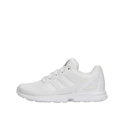 buy popular be4a0 b622a Adidas ZX Flux C, Chaussures de Fitness Mixte Enfant, Blanc Ftwbla 000, 28