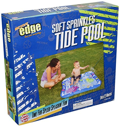 Small World Toys Active Edge - Soft Sprinkles - Baby Wading Pool