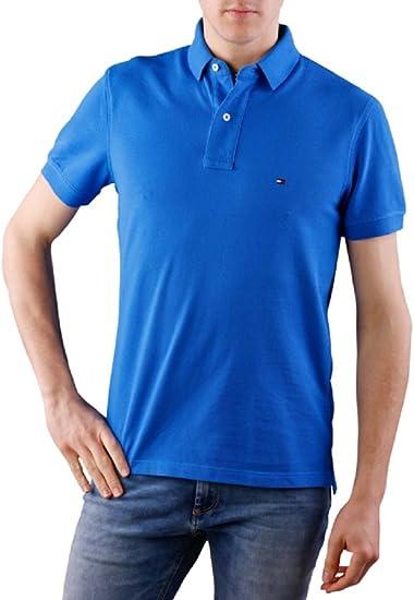 Tommy Hilfiger - Polo - Polo - para Hombre Azul Turquesa Medium ...