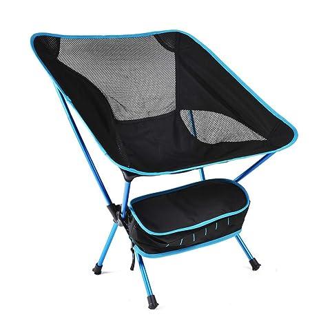 Silla plegable de metal Comfort Silla portátil para acampar ...