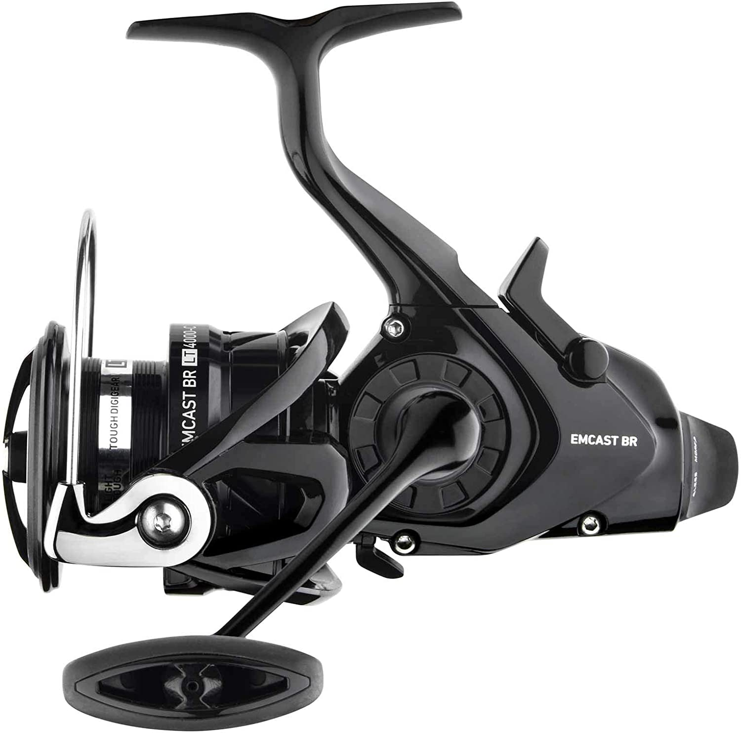 Daiwa ECLTBR5000-C Emcast Bite & Run Spinning, 3 + 1, 5.2 : 1, Black