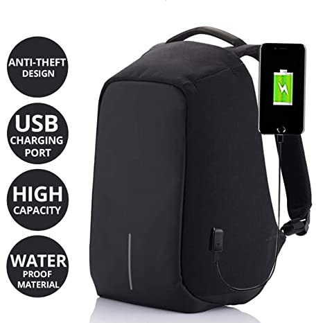 f3a64ed098 AllExtreme Anti Theft Backpack Water Resistant Oxford Fabric 15 Liters  Black Office Laptop Bag - Buy AllExtreme Anti Theft Backpack Water Resistant  Oxford ...