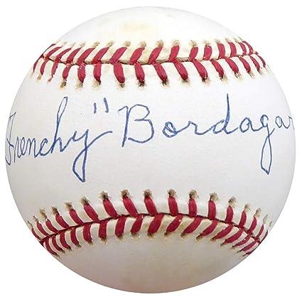 a1f1805032d Frenchy Bordagary Signed Official NL Baseball Brooklyn Dodgers Memorabilia  - Beckett Authentic