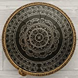 GUDA DRUM Freezbee - unique idiophone, steel tongue drum, which collects many of handpan characters. Can be played easily with fingers or mallets. GUDA Freezbee is compact model which costs as tank drum but has the traditional GUDA quality. It is mad...