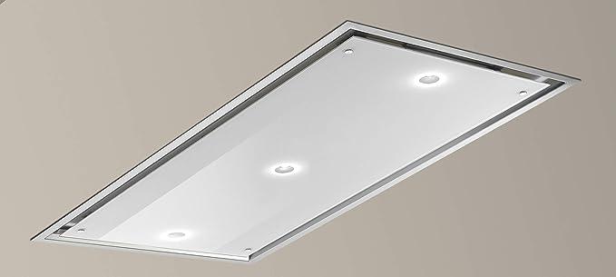 Bianca 85 cm Color blanco techo campana con 820 M3/H Inline Motor: Amazon.es: Grandes electrodomésticos
