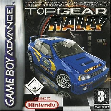 Top Gear Rally - Complete package - 1 user - Game Boy Advance - German [Importación Inglesa]: Amazon.es: Videojuegos