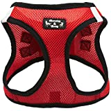 Creative Pet Group MR500RED-S Murphy & Roxy Pet's Harness with Velcro and buckle, Red, Small