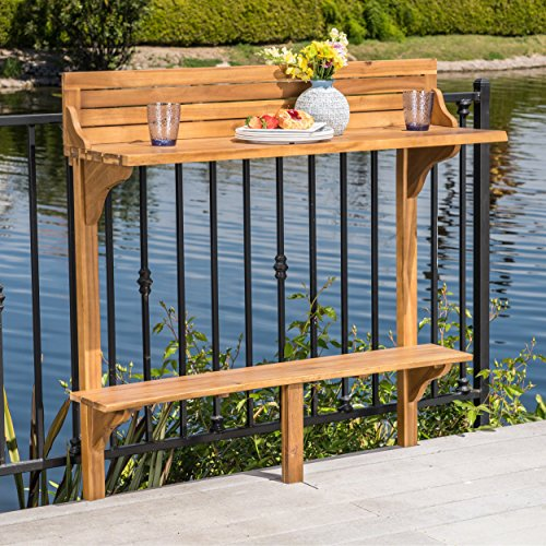 Cheap Christopher Knight Home 304144 Caribbean Balcony Bar Table, Natural Stained