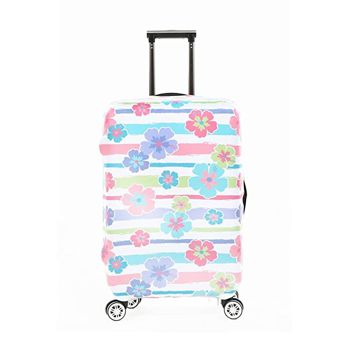 8a6952b7dc3e Fvstar Travel Luggage Cover Spandex Suitcase Protector Washable ...