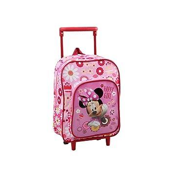 Mochila con carrito de Disney con diseño de Minnie Mouse. Para niños ...